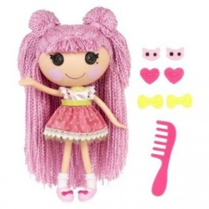 lalaloopsy hair doll jewelry sparkles