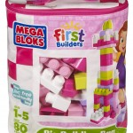 Mega Bloks Big Building Bag 80 piece set only $11.99