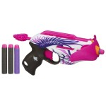 Nerf Rebelle Pink Crush Blaster only $6.99!