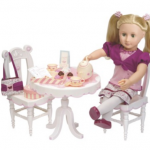Our Generation Doll and Tea Party Set for $38.89!