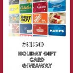 $150 Gift Card Giveaway!