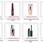 Five Clinique FREEBIES with purchase PLUS free shipping!