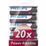 Philips 20 ct AA Alkaline batteries only $4.56 shipped!