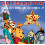125 FREE Disney Movie Rewards Points in December!