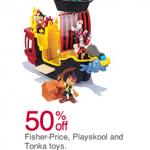 Kohl's 50% off toys sale!