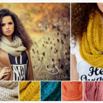 Chevron Print Infinity Scarves only $4.99!