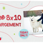 Walgreens FREE 8X10 photo enlargement!