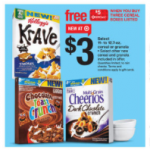 Stock up cereal deal and FREE Nature Made vitamins!