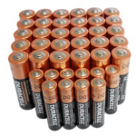 30 AA and 10 AAA Duracell Coppertop Batteries only $17.99 shipped!