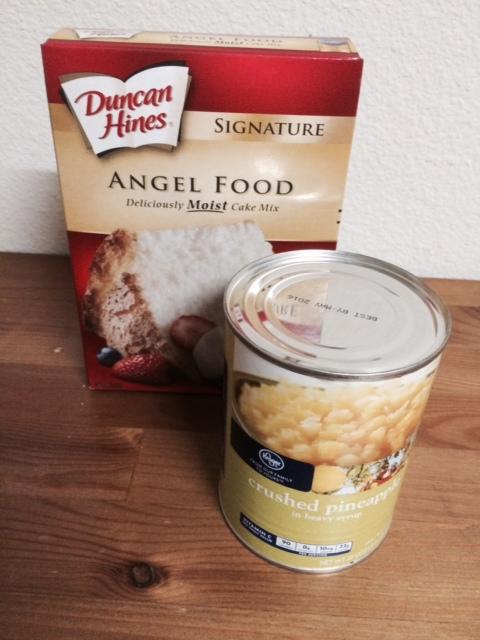 Easy Pineapple Angel Food Cake Recipe