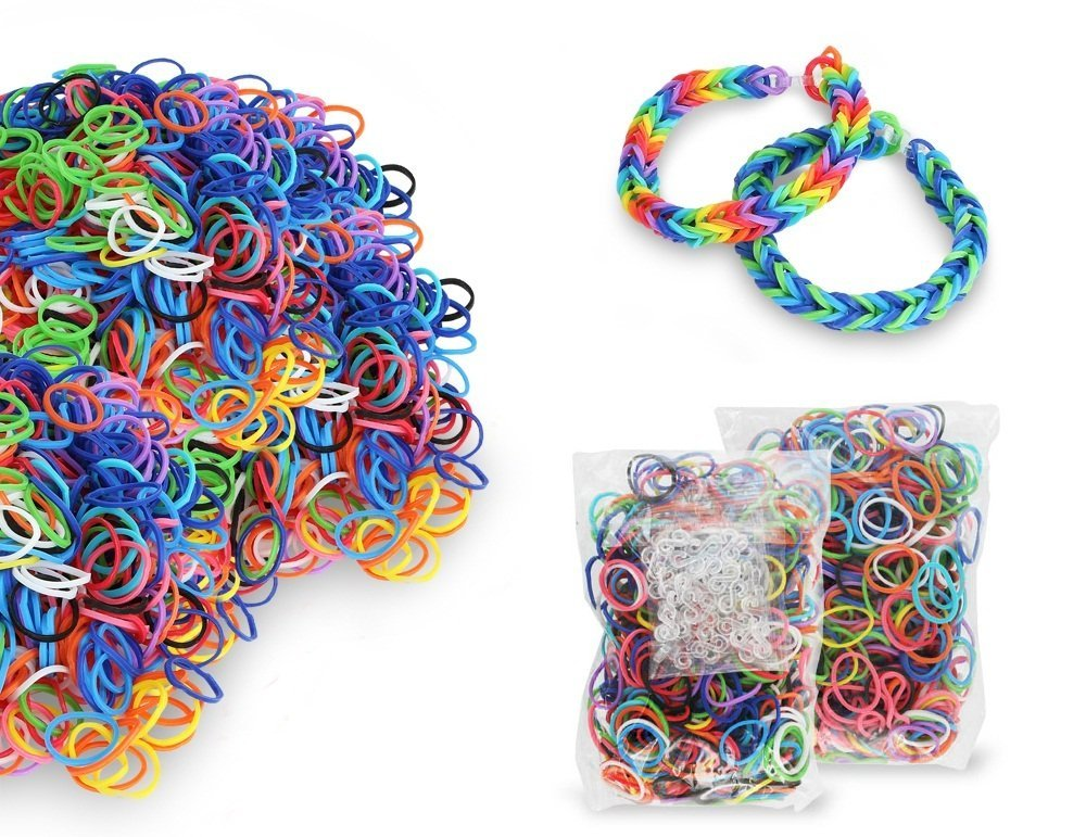 2,400 Extra Strength Loom Bands only $5.29 shipped!