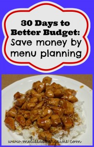 save-money-by-menu-planning