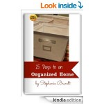25 Days to a More Organized Home FREE for Kindle!