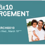 Free 8X10 Photo Enlargement!
