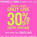 Crazy 8 Friends & Family Sale!