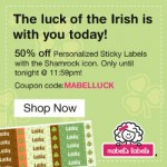 Mabel's Labels 50% off sale!