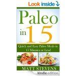Paleo Cookbooks FREE for Kindle!
