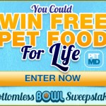 Win FREE Pet Food for Life!