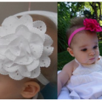 Baby Lace Flower Headbands just $.61 each SHIPPED!