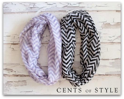 chevron-infinity-scarf