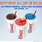 Tax Day Freebies List!