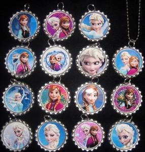disney-frozen-bottle-cap-necklaces