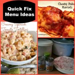 Menu Planning Monday: more quick fix recipes!