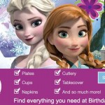 Frozen Birthday Party Supplies 10% off at Birthday Express!