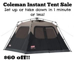 coleman-instant-tent-sale