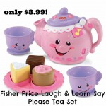Fisher Price Laugh & Learn Say Please Tea Set only $8.99!