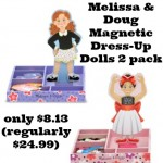 Melissa & Doug Magnetic Dress Up Dolls 2-pack only $8.13!