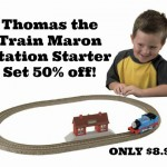 Thomas the Train Maron Station Starter Set only $8.99!