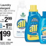 Stock up Deal on All Laundry Detergent!