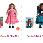 American Girl Mini Dolls just $10 each!