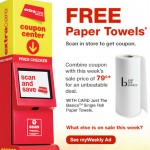 FREE Paper Towels at CVS!