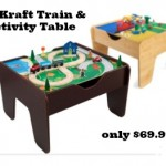 KidKraft Train and Activity Table only $69.99!