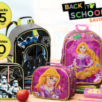 Disney Store Backpacks & Lunch Box sale!