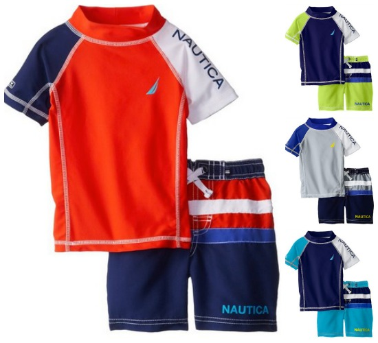 nautica-rash-guard-swim-trunks