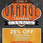 BuyCostumes.com 25% off Orange Tuesday Sale!
