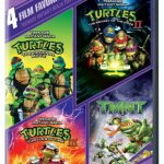 4 Teenage Mutant Ninja Turtle DVDs only $8!