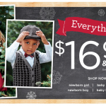 Gymboree Sale:  everything $16.99 or less!