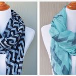 Chevron Print Scarves only $4.99!