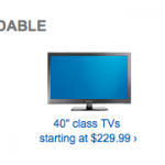 Best Buy Black Friday Pricing on TVs available NOW!