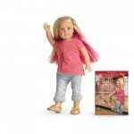 Isabelle American Girl Mini Doll plus book only $10.07!