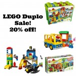 LEGO Duplo sets 20% off!