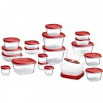 Rubbermaid 42-Piece Easy Find Lid Food Storage Set only $14.99!
