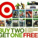LAST DAY:  Target Buy 2, get 1 free video games sale!