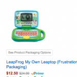 LeapFrog Toys 50% off on Amazon today!