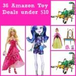 36 Amazon Toy Deals under $10!