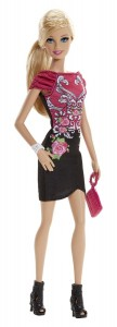 barbie-black-pink-dress